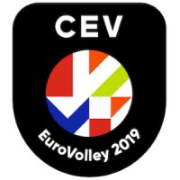 """Résultat de recherche d'images pour """"eurovolley 2019 logo"""""""