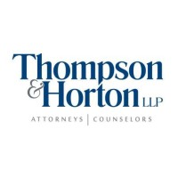 Image result for thompson and horton llp
