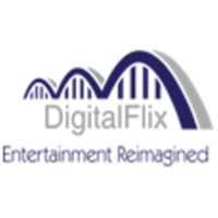 DigitalFlix Productions - Entertainment Reimagined Logo