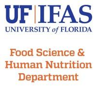 Food Science and Human Nutrition, University of Florida   LinkedIn