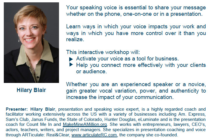 How To Create Your Professional Speaker Biography Yvonne C Bryant