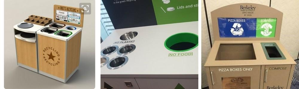Indoor Bespoke Recycling Bins