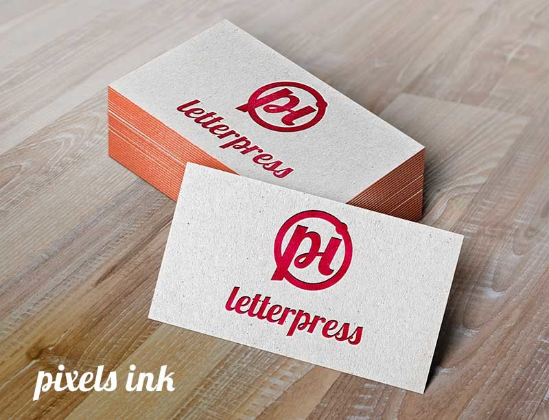 5 design tips for an effective business card col gray pulse letterpress business card mockup colourmoves