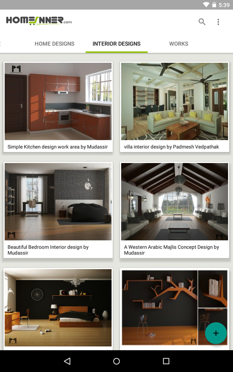 Homeinner.com - Home design and Interior design Mobile App released ...