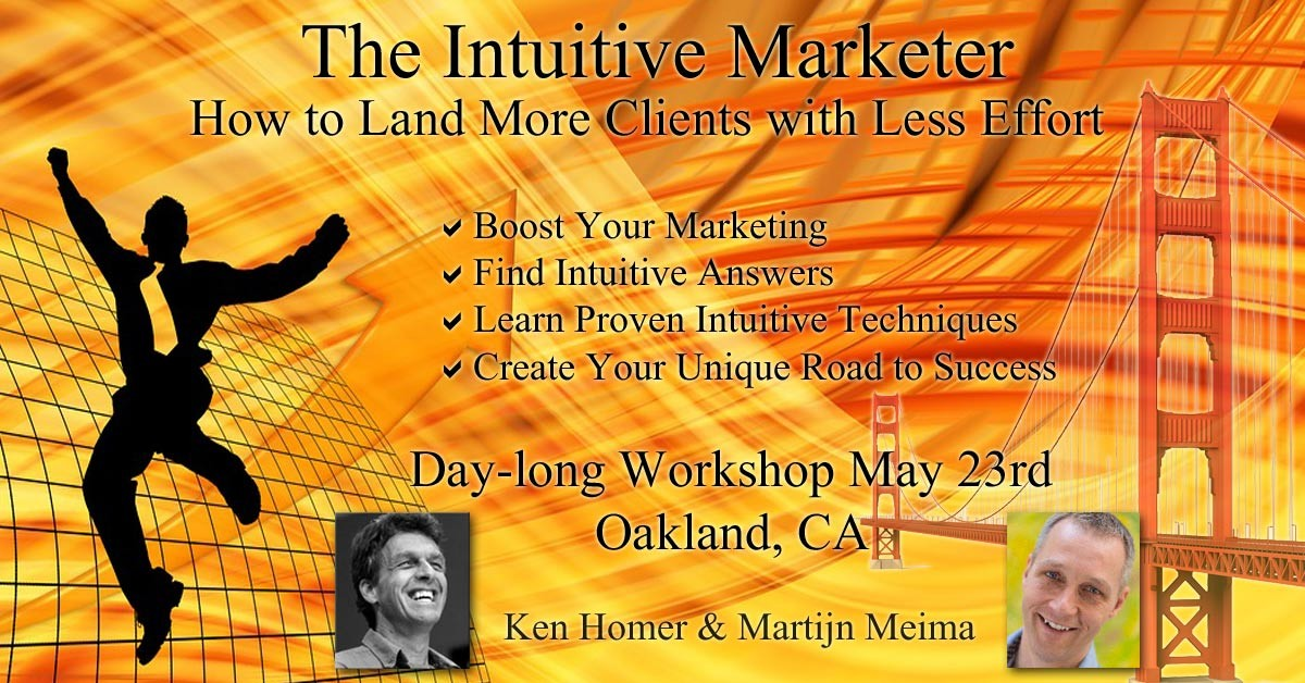 Intuitive Marketing - The Intuitive Marketer