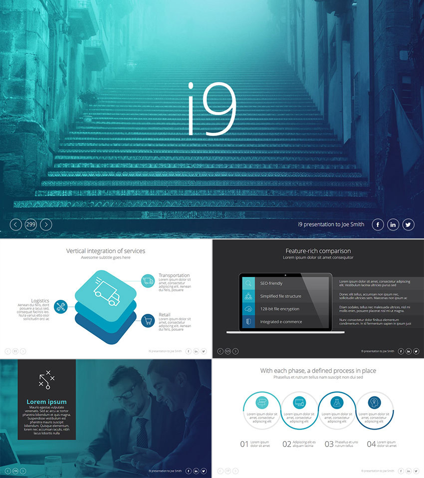 15 best powerpoint templates 2018 best themes pulse linkedin grab this awesome ppt presentation theme it has a cool design with transparent overlay features including stylish color effects that add an elegant modern toneelgroepblik Choice Image