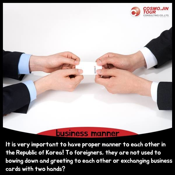 Five etiquettes you have to keep in korea jiny jung pulse business manner since in korea it is really important to have a polite manner with each other in a business place when you exchange business cards reheart Gallery