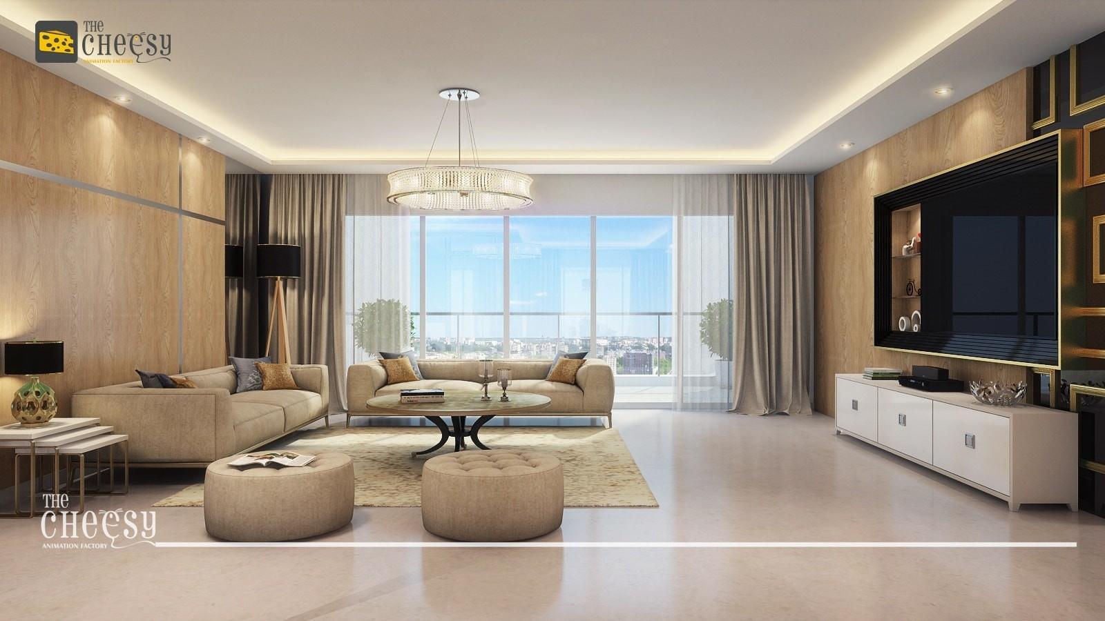 Unique Interior Design Concept of 2018 | 3D Architectural Rendering ...