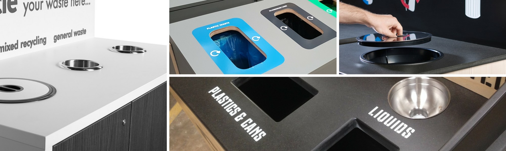 Indoor recycling bin design ideas