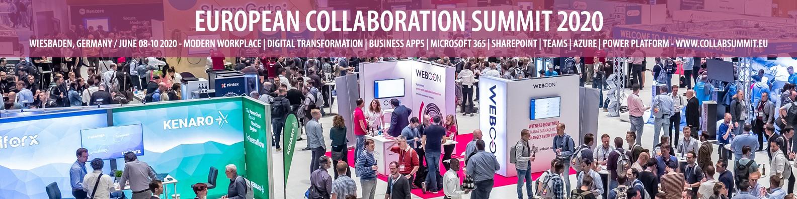 European Collaboration Summit   LinkedIn