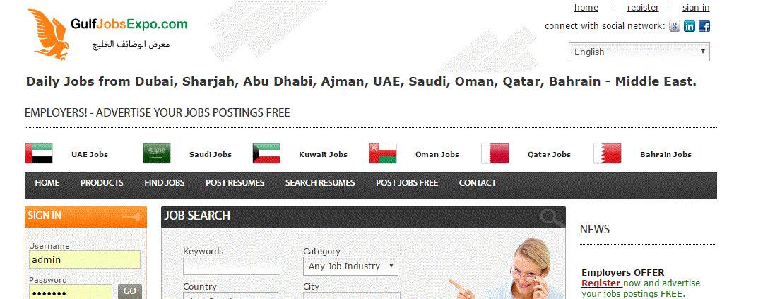 GulfJobsExpo com - Gulf Jobs - Dubai Jobs - Middle East