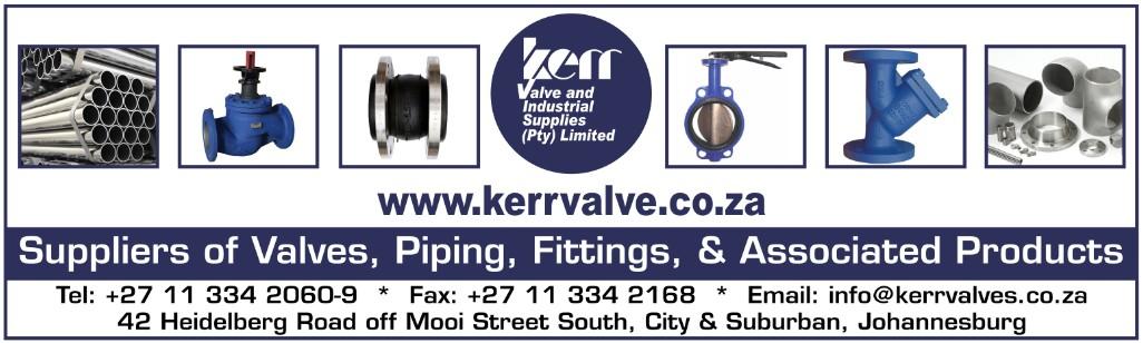 Kerr Valve & Industrial Supplies (Pty) Ltd   LinkedIn