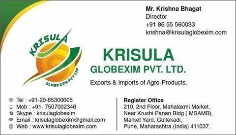 Krisula Globexim Pvt  Ltd    LinkedIn