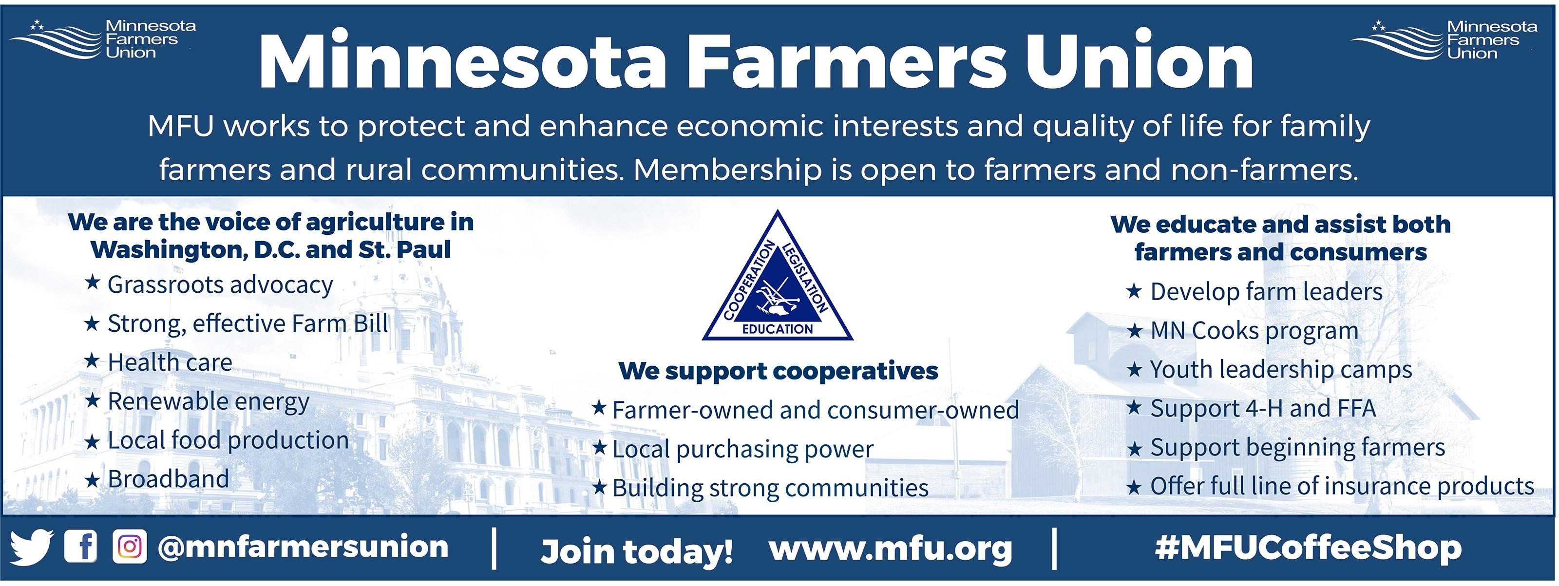 Minnesota Farmers Union | LinkedIn