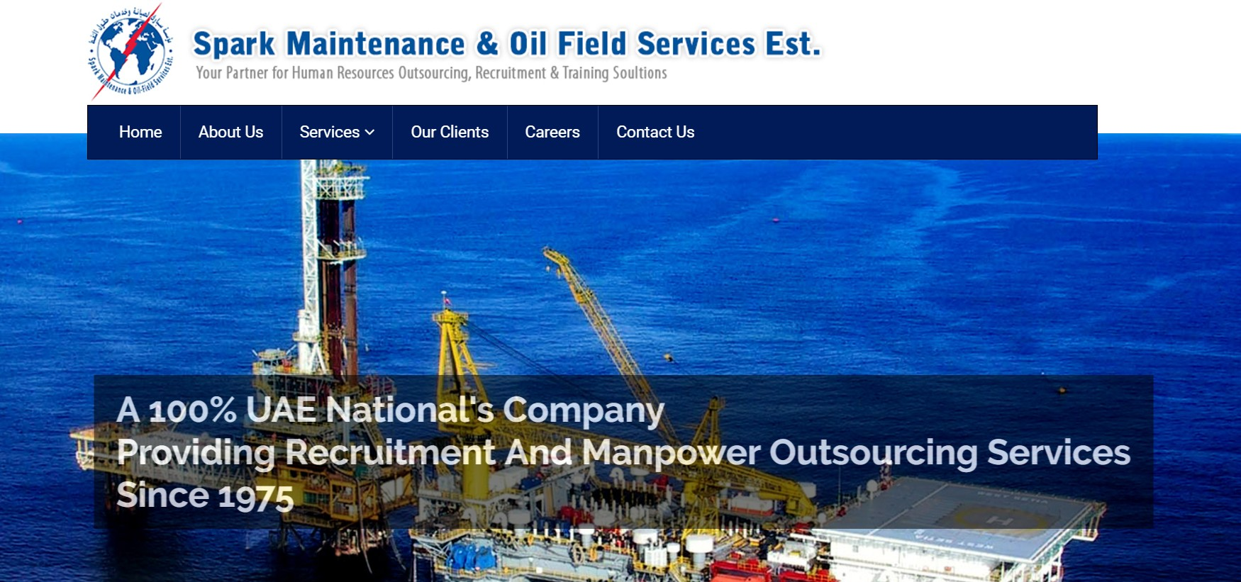 SPARK MAINTENANCE & OIL-FIELD SERVICES ESTABLISHMENT | LinkedIn