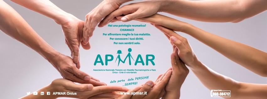a925a9f5af Immagine di copertina di APMAR Associazione Nazionale Persone con Malattie  Reumatologiche e Rare
