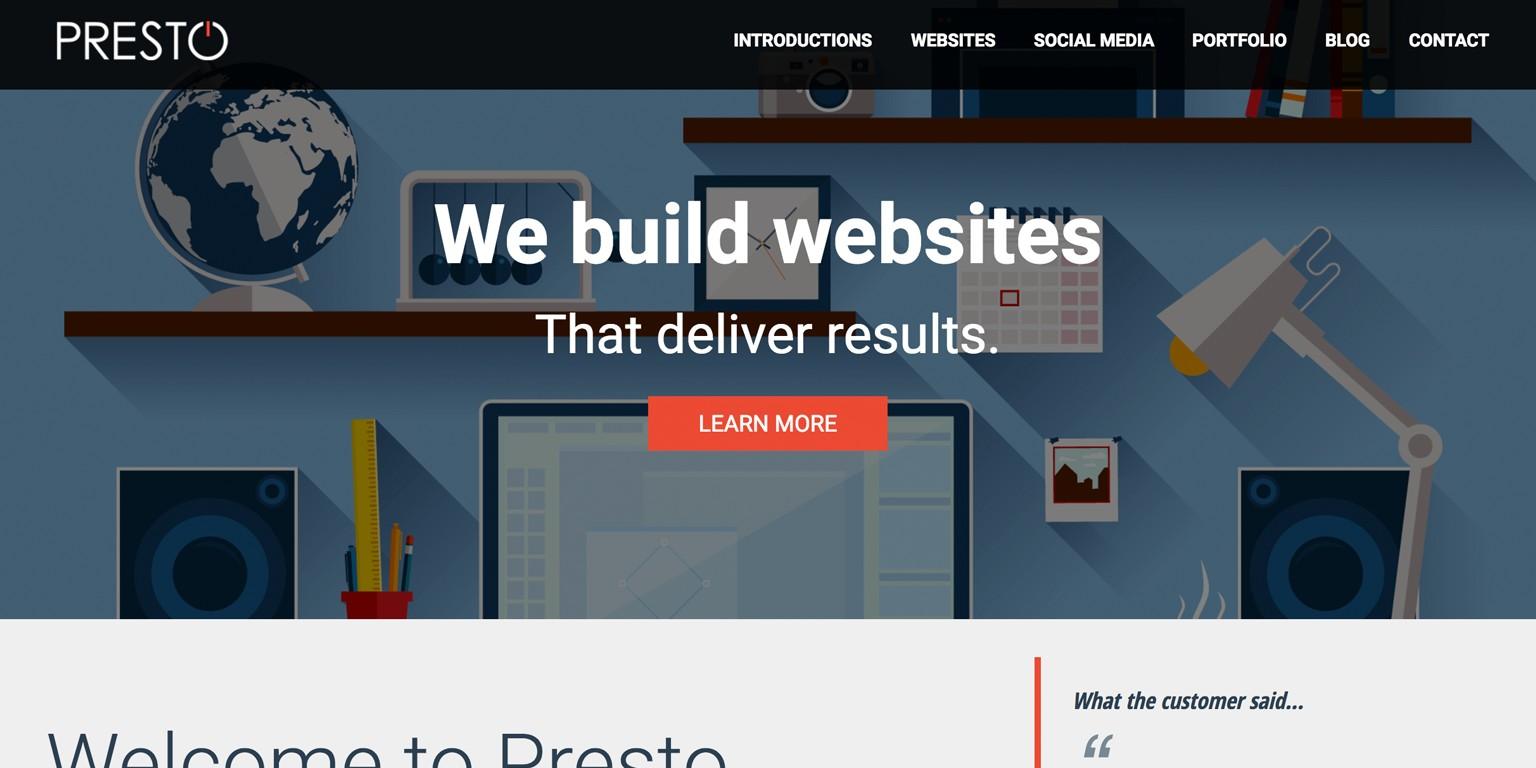 check out de6fc 9717b Presto Web Design - for Hi-Fi, Home Cinema, Custom Install and Technology