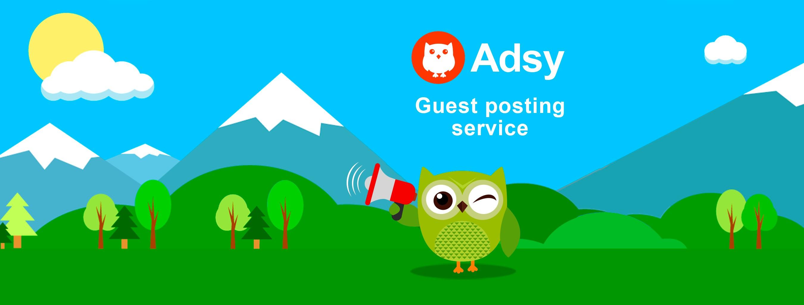 Adsy - Guest Posting Service | LinkedIn