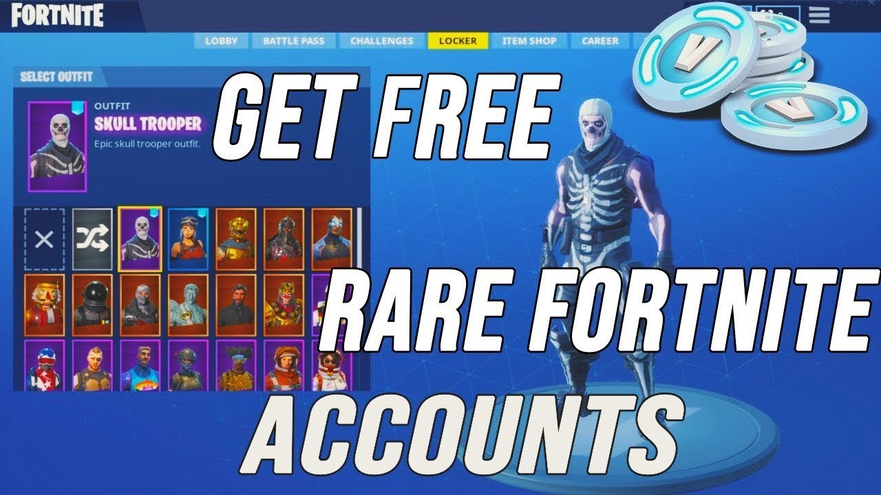 coverbillede for fortnite account generator free ps4 xbox v bucks working - fire alts com fortnite account generator