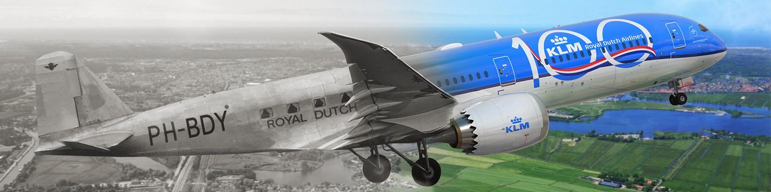 KLM celebra seu centenário com 100 anos de progresso em novo filme publicitário