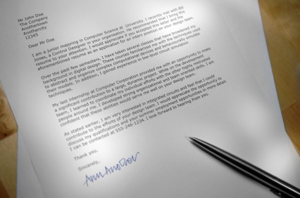 Application Cover Letter Creation Instant Winning Impression