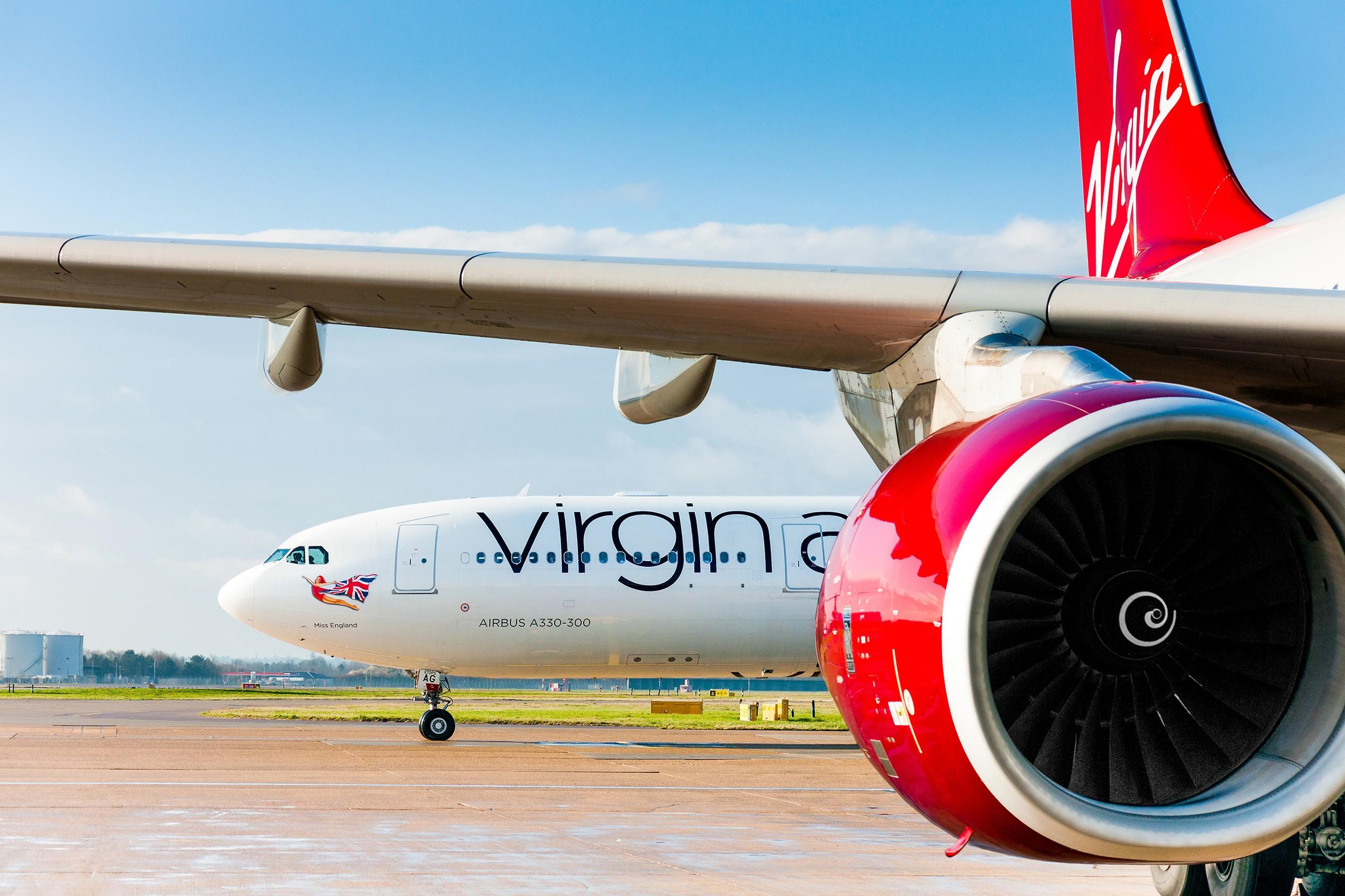 Virgin anuncia voos para o Brasil a partir de março