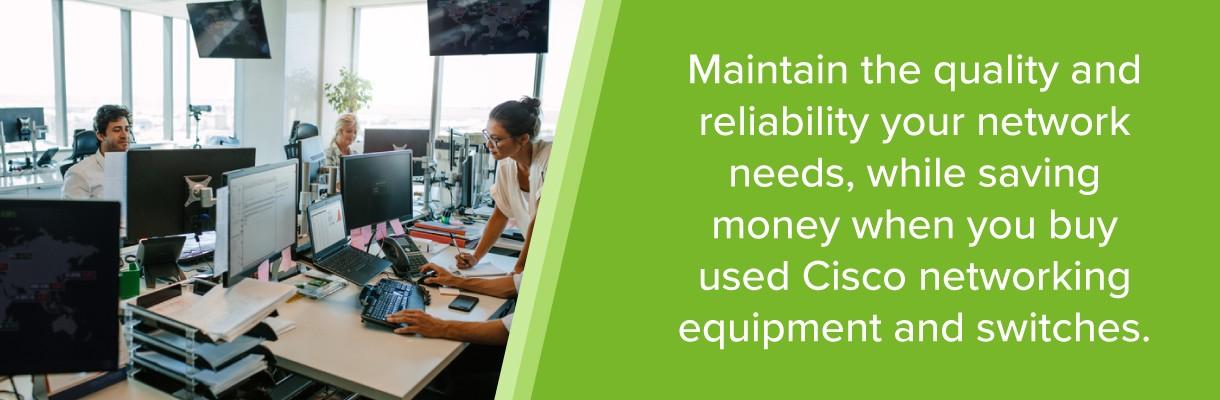Why Buy Refurbished Cisco equipment? | LinkedIn