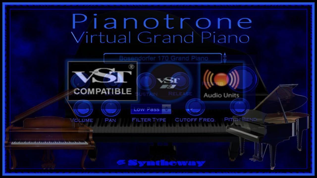 Pianotrone Virtual Grand Piano VST VST3 Audio Unit Bösendorfer 170
