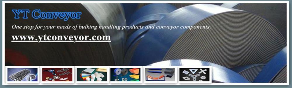 YT Conveyor parts-elevator bucket, bolt and belt, drag