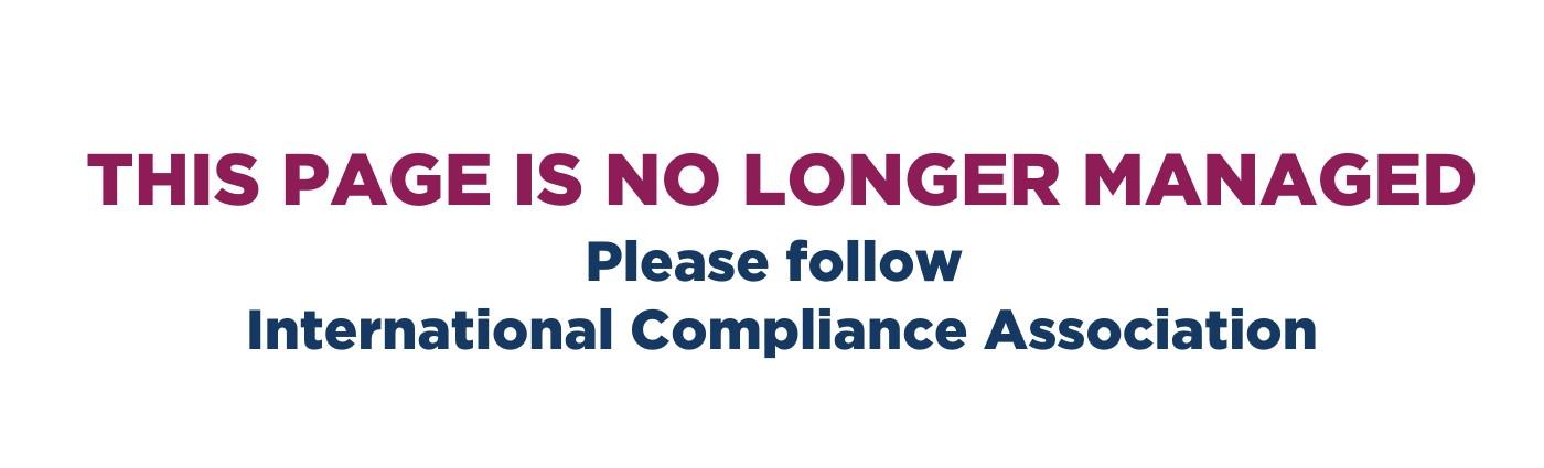 International Compliance Training | LinkedIn