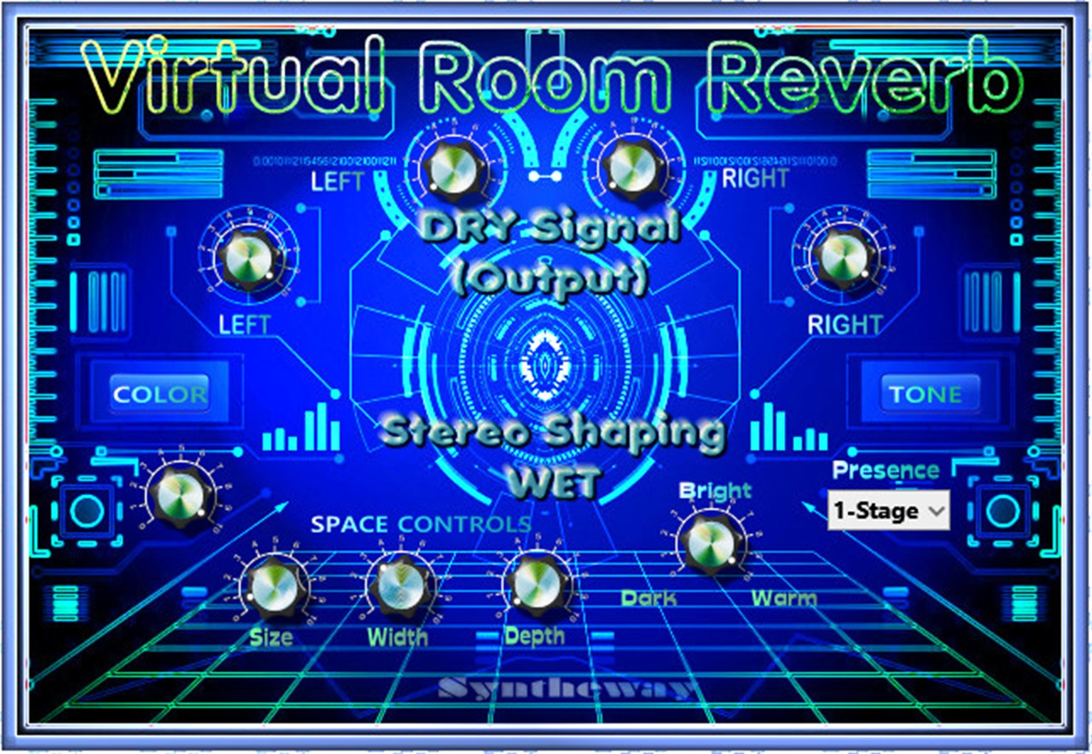 Virtual Room Reverb VST VST3 Software (Virtual Effect