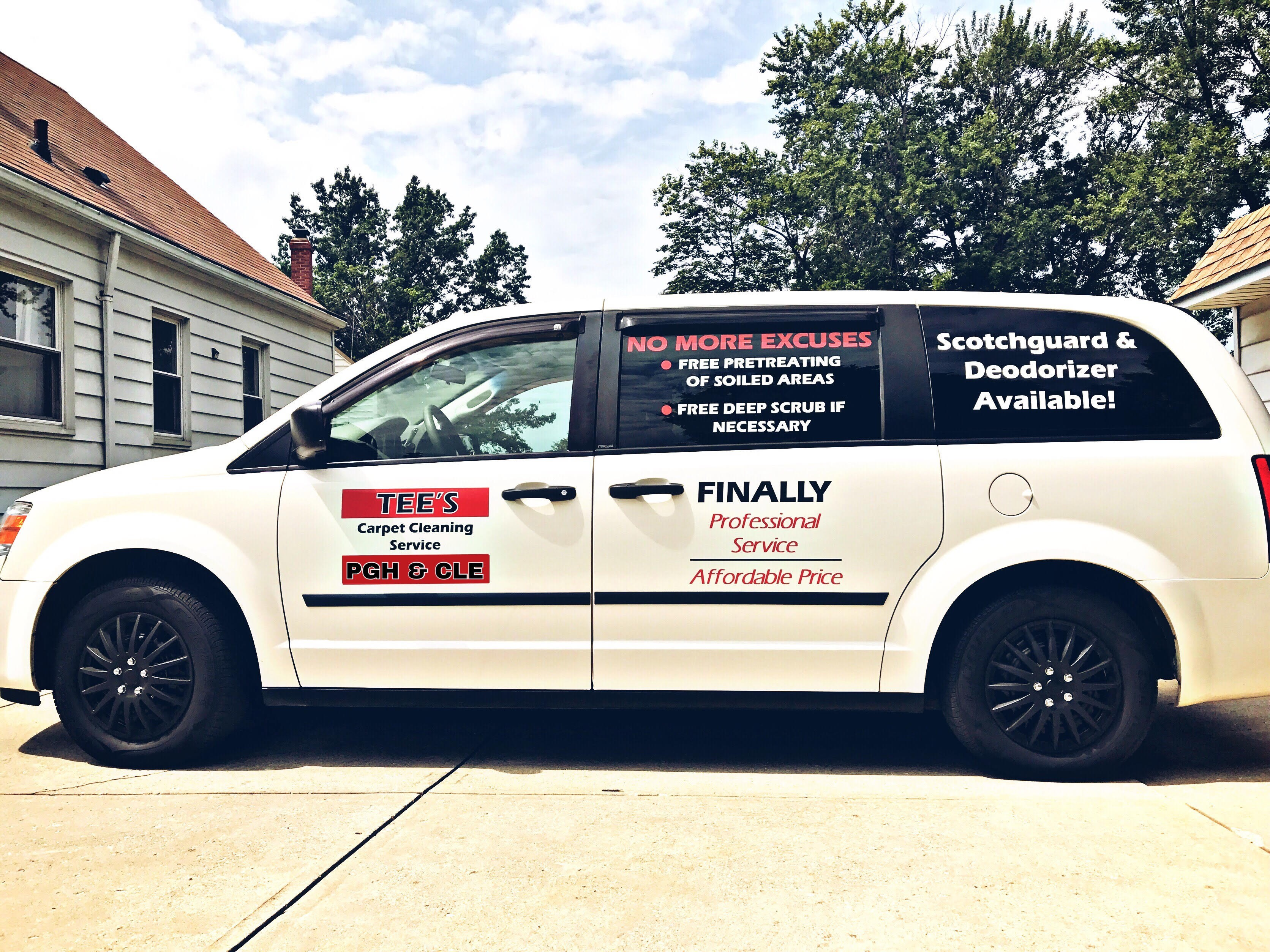 Tee's Carpet Cleaning Services cover image
