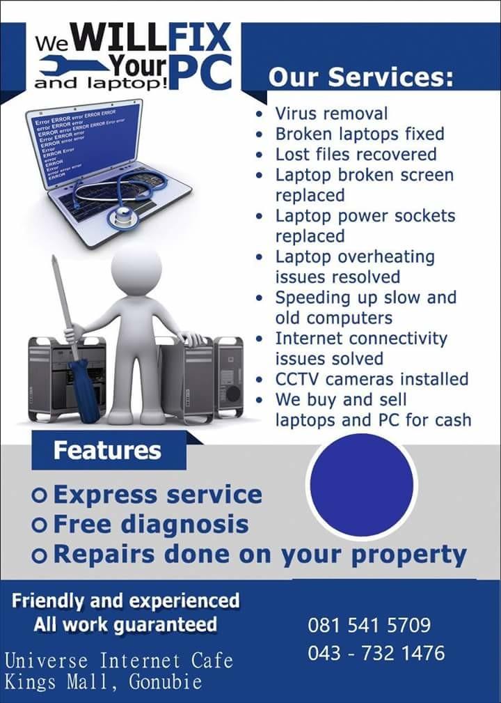 Computer And Laptop Repairs | Rhodes Johannes | Pulse | LinkedIn