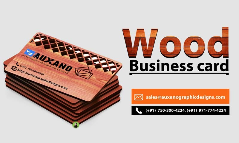 Unique business card types auxano digital marketing pulse linkedin consider specialty add ons like rounded corners custom shapes foiling or embossing to add extra style to any of your wooden business card colourmoves