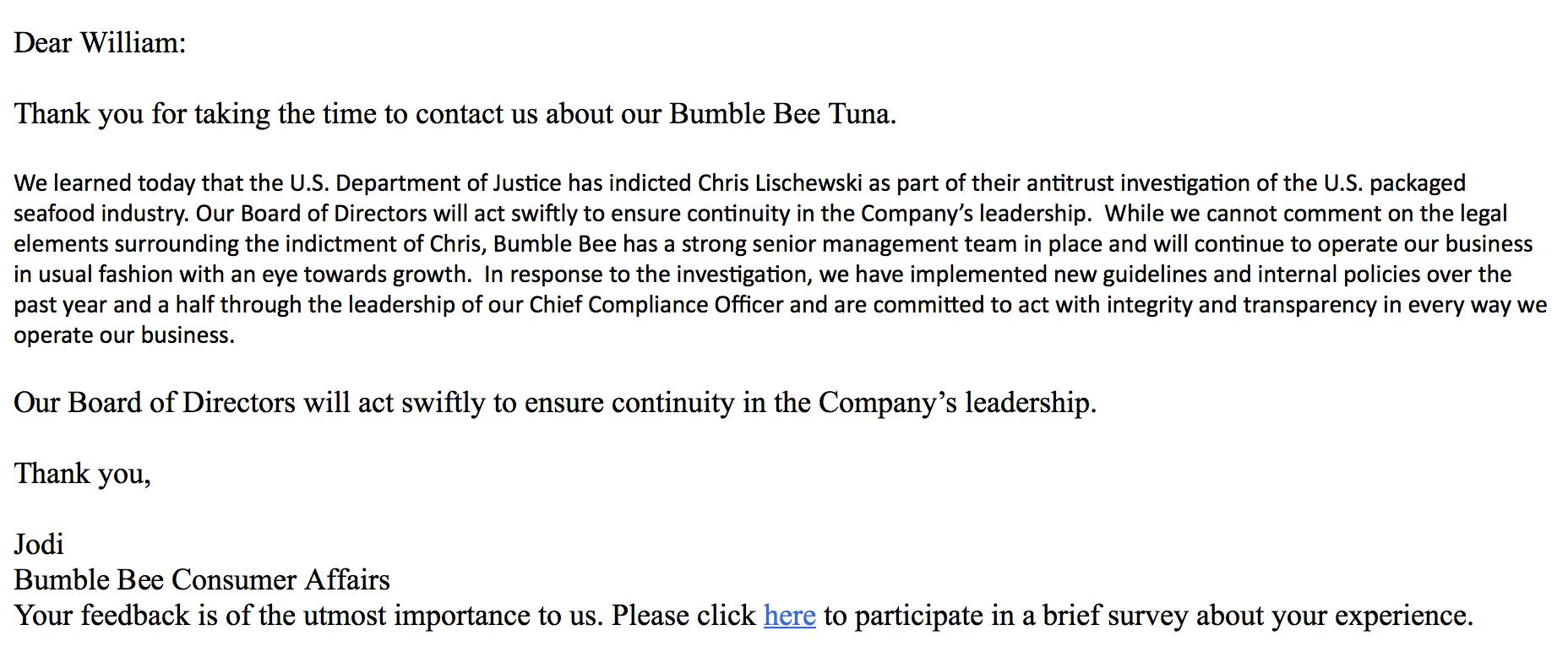 Anatomy of Bumbling Bee Chris Lischewski: How Corporate Arrogance ...