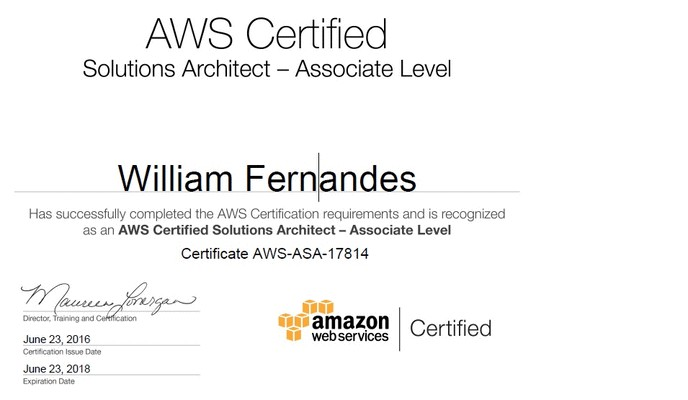William Fernandes - Lead Solution Speicalist and Cloud Engineer ...