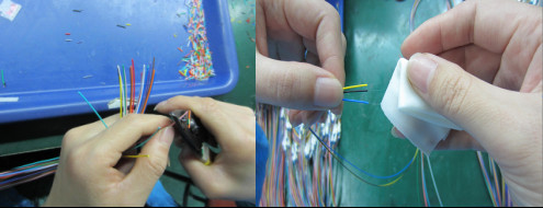 Fiber Patch Jumper CableStripping&Indentifying