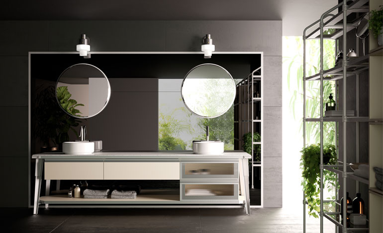 Scavolini and Diesel collaboration for the kitchen and bathroom ...