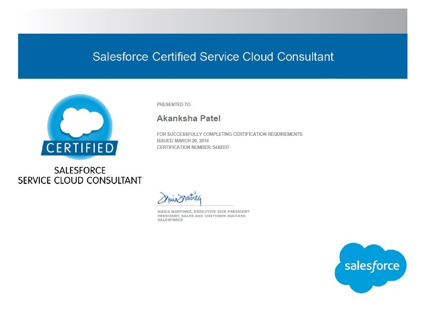 Cleared Service Cloud Consultant Certification Today Akanksha