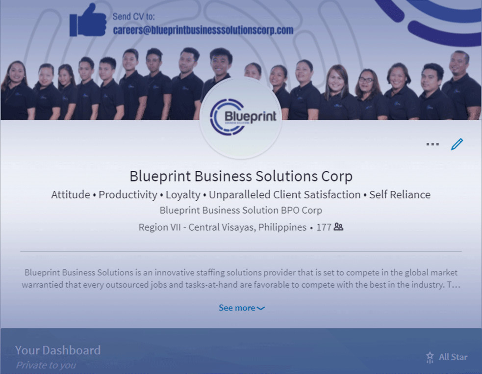 Going social and professional with linkedin blueprint business today they are being used as a platform for progress especially in the field of digital marketing business process outsourcing malvernweather Image collections