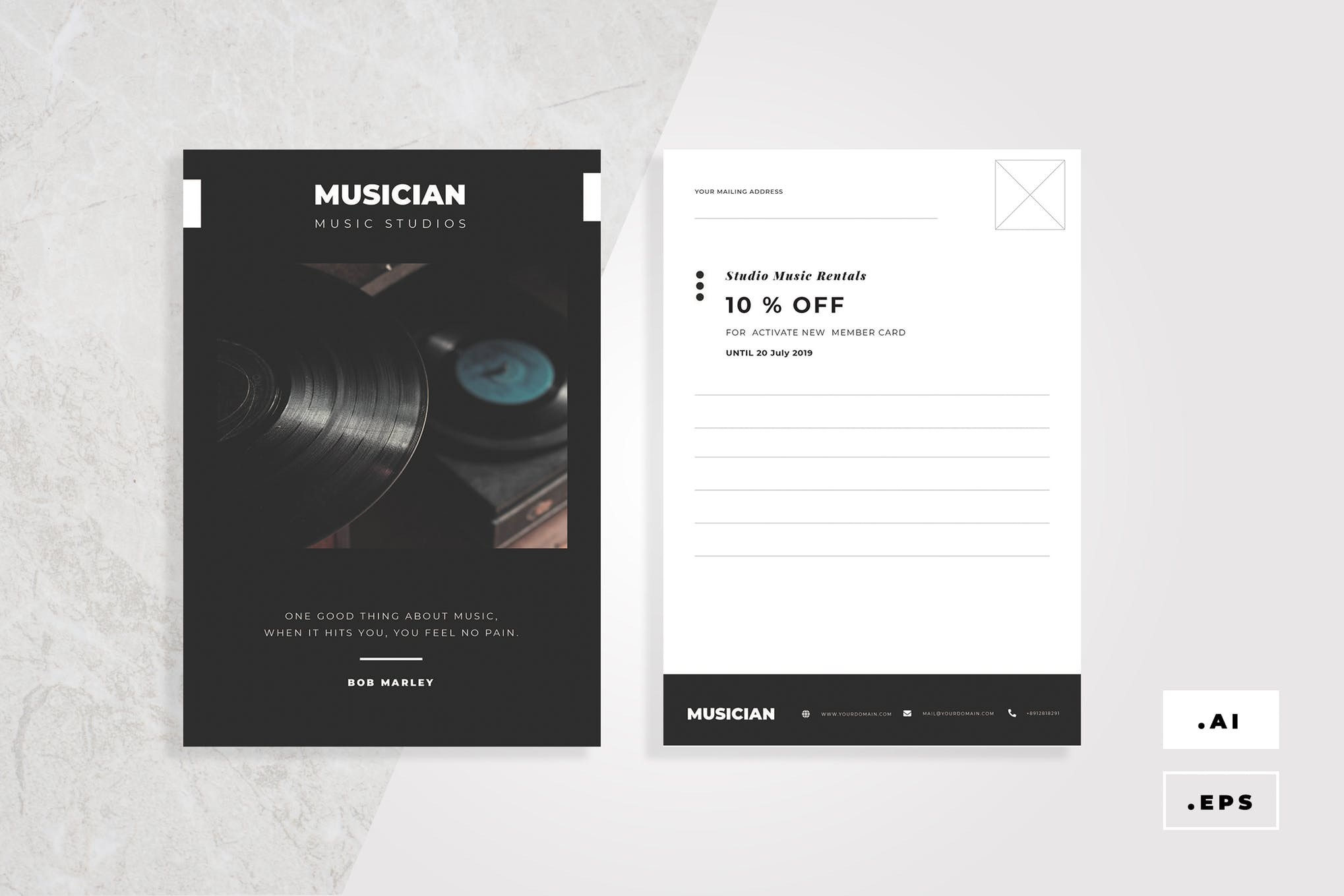 9 POSTCARD DESIGN IDEAS FOR YOUR BUSINESS BY RUSH HOUR PRINTING AND ...