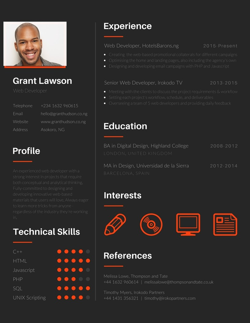 How to Tweak your Resume with Canva to Get the Job You Want   Jimmy ...