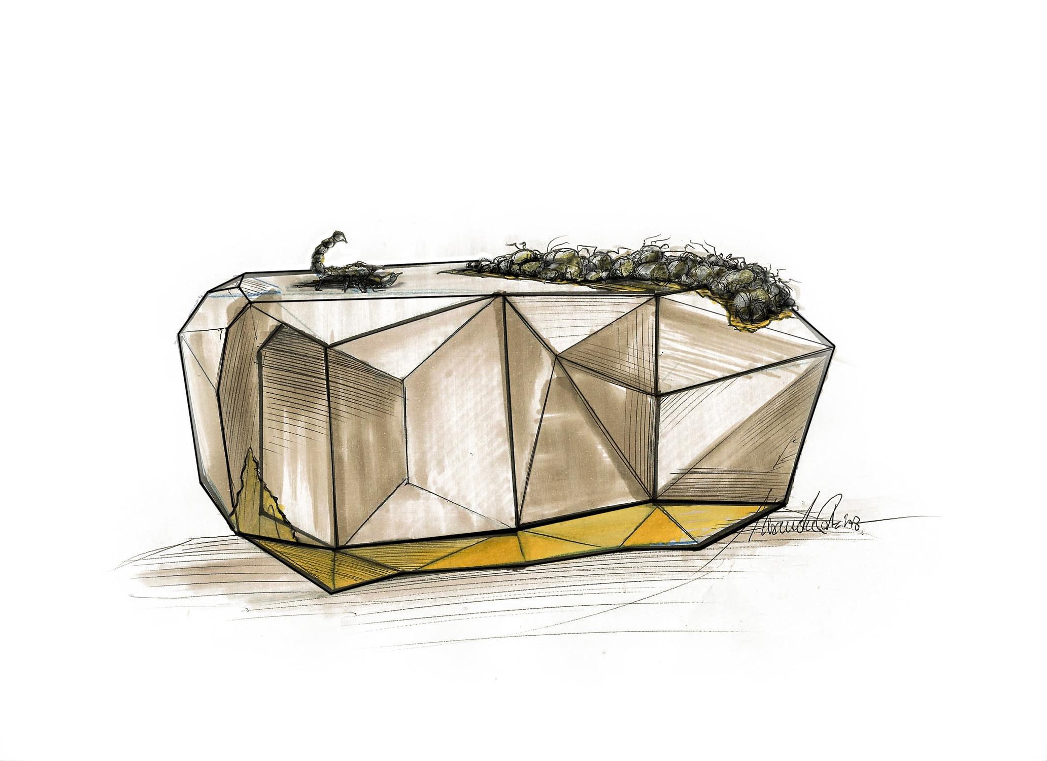 Boca do Lobo Furniture: Diamond Sideboard Family   Vanessa Santos ...