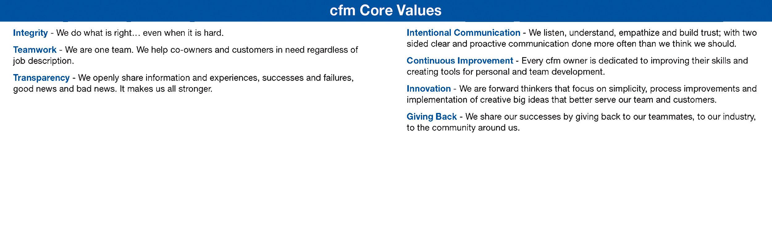 What Is Cfm >> Cfm Distributors Inc Linkedin