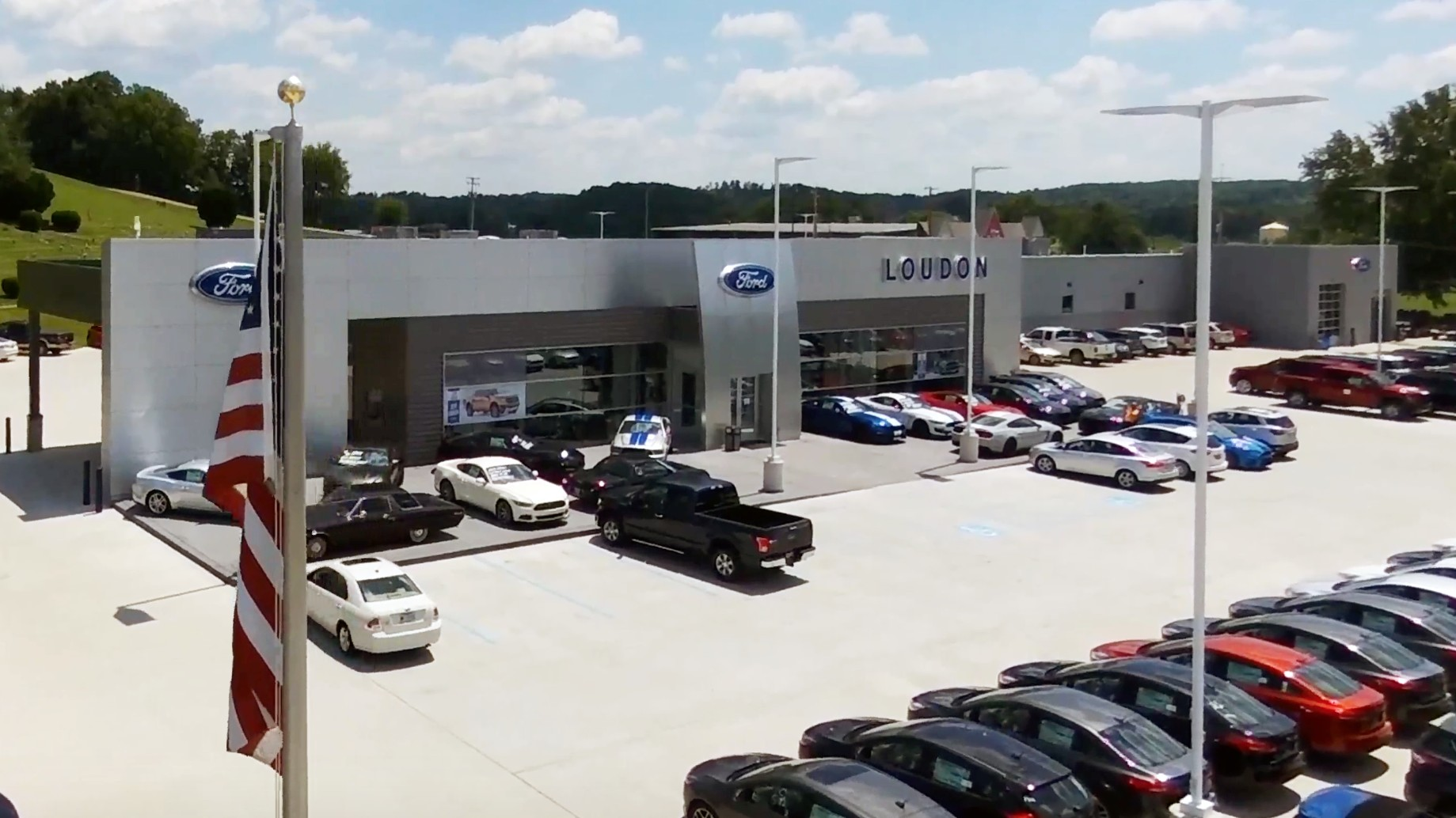 Loudon Motors Ford Cover Image