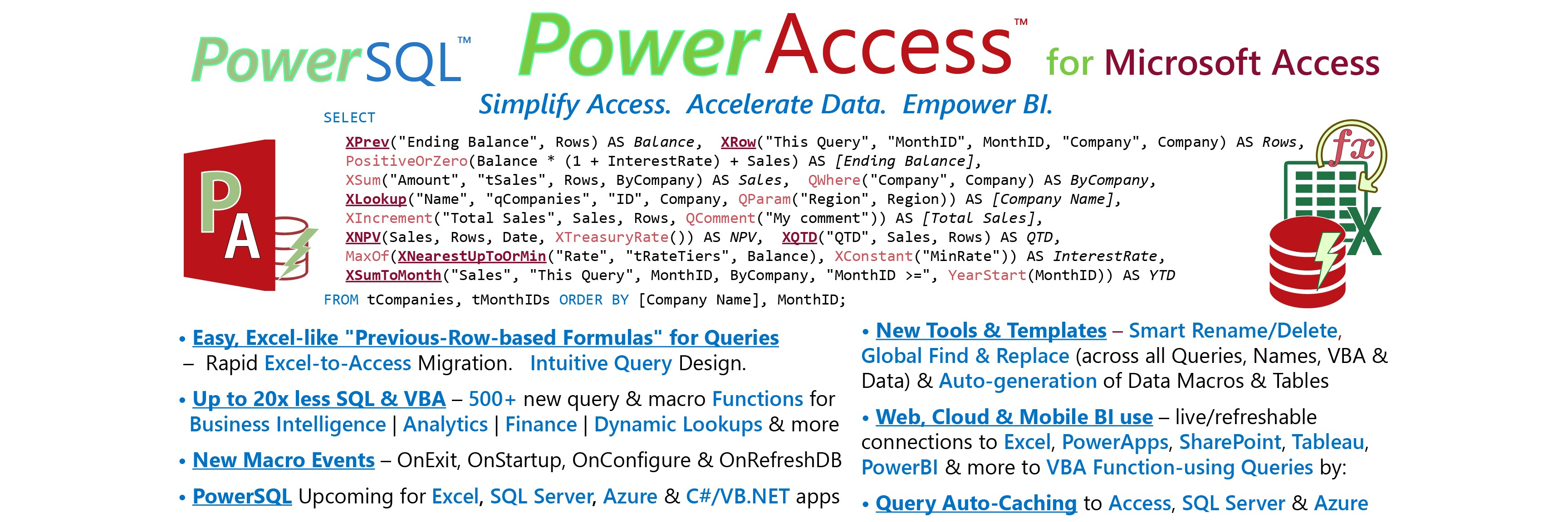 PowerAccess 📊 All-in-One Toolset | Framework for Microsoft Access