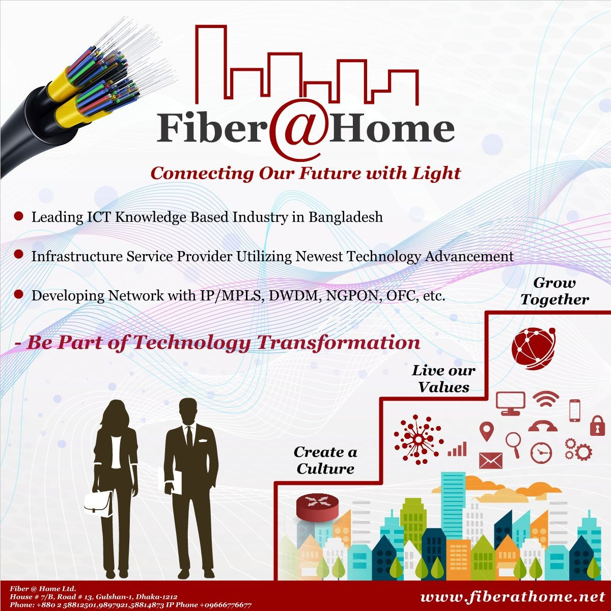 Fiber @ Home Ltd  | LinkedIn