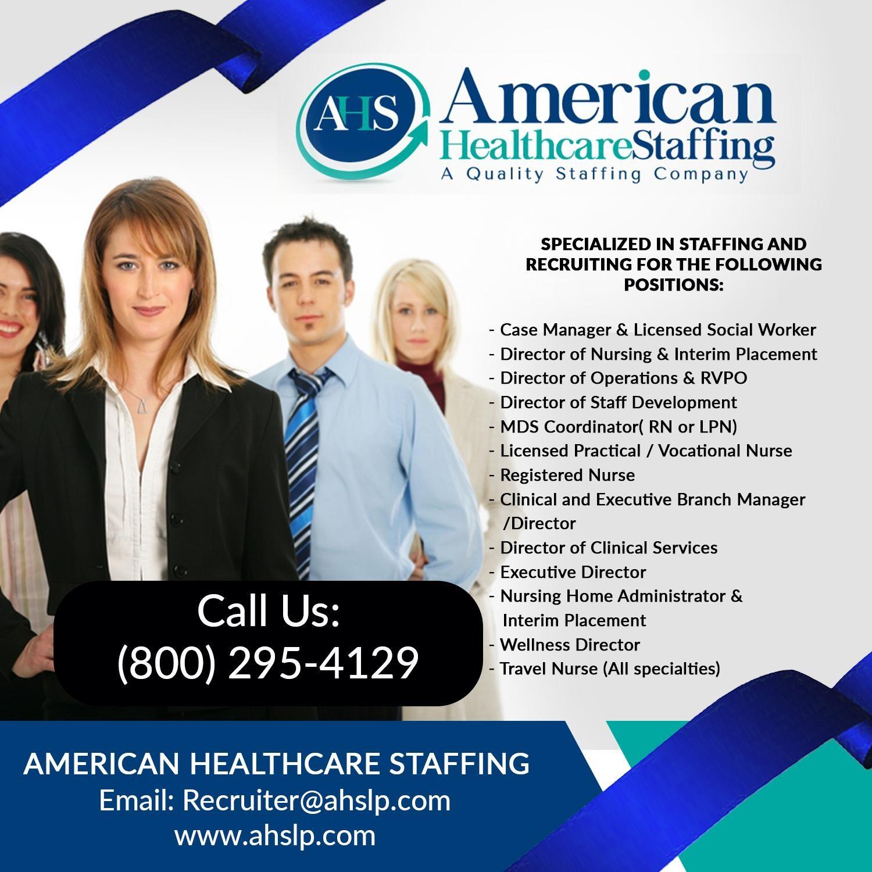 American Healthcare Staffing, LLC  | LinkedIn
