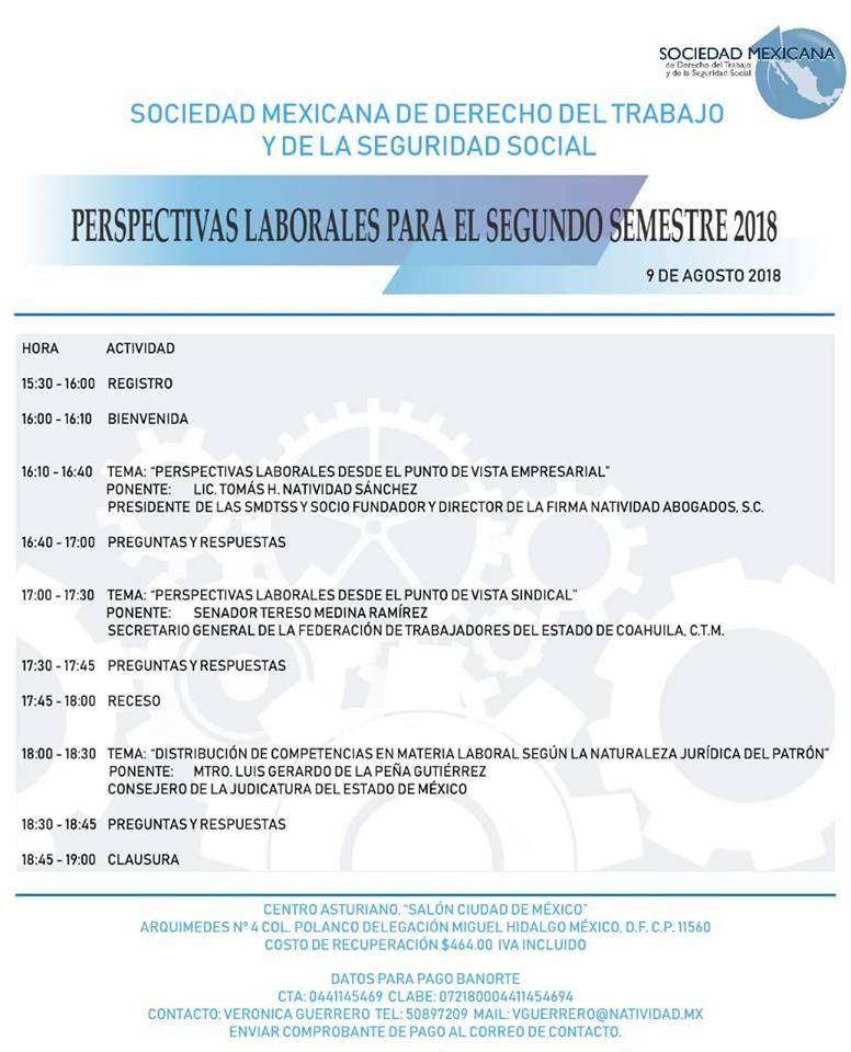 Sociedad Mexicana de Derecho del Trabajo y de la Seguridad Social ...
