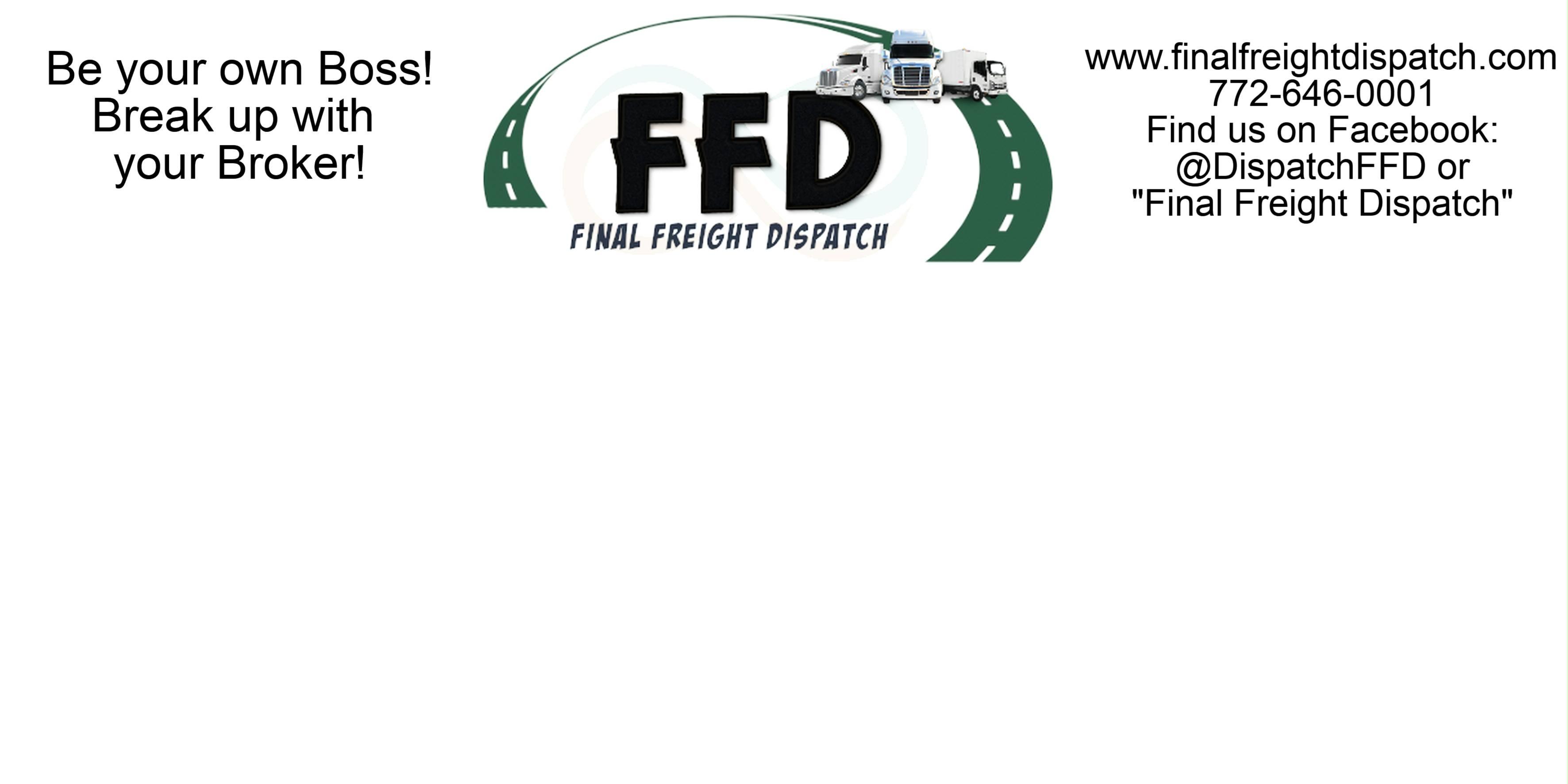 Final Freight Dispatch | LinkedIn